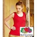 T-shirt Damski Vest ( na ramiaczkach) Fruit Of The Loom